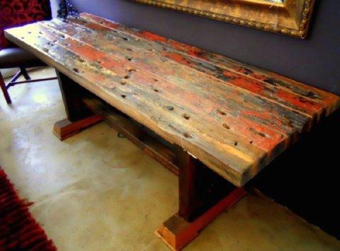 shipwreck furniture table