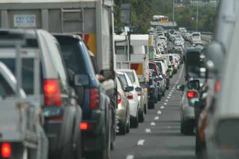 Blog traffic jam