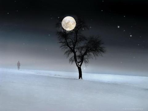 walking-on-snow-under-full-moon